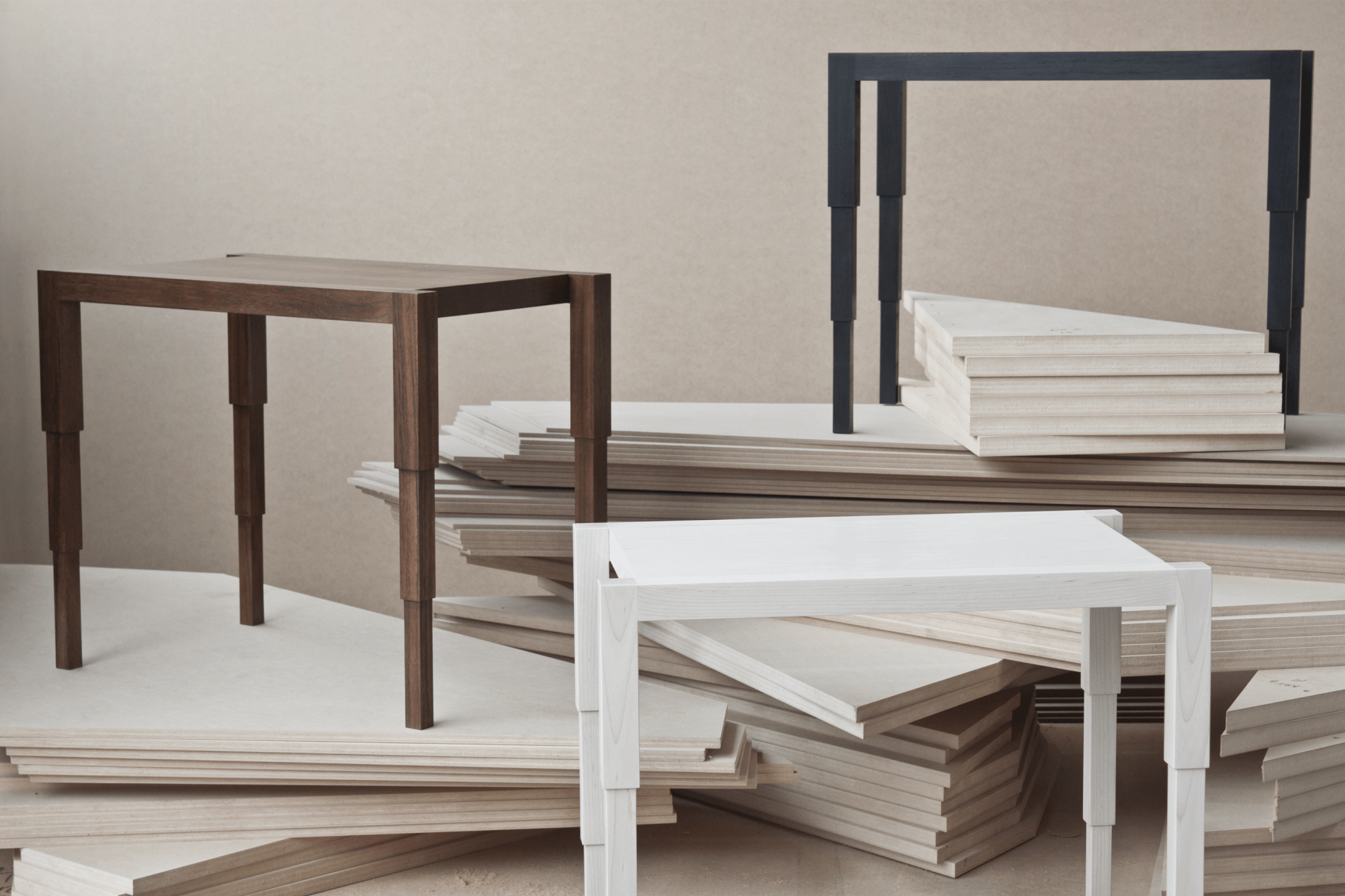 CHICAGO SIDE TABLE TRIO
